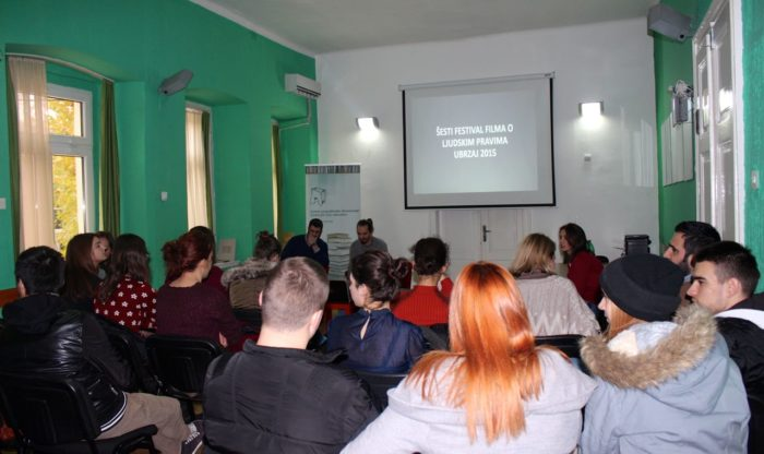 Oformljena volonterska grupa Festivala filma o ljudskim pravima UBRZAJ 2015